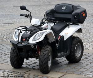 puzzel ATV of quad
