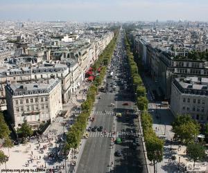 puzzel Avenue des Champs-Bray, Parijs