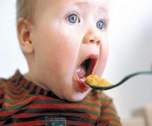puzzel Baby, eten