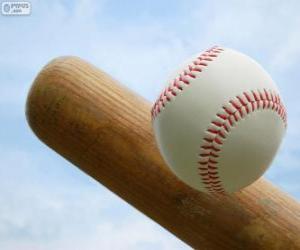 puzzel Badjes en balletjes honkbal