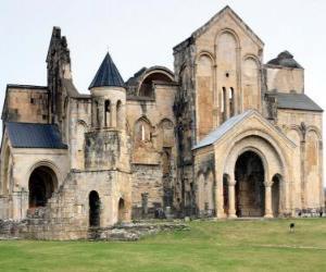 puzzel Bagrati Cathedral, Georgië.