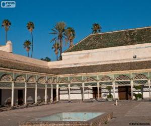 puzzel Bahiapaleis, Marrakech, Marokko