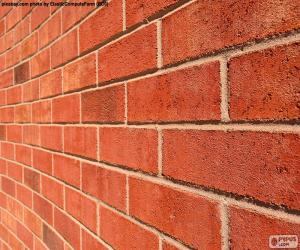 puzzel Bakstenen muur