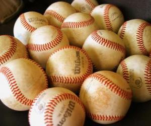puzzel Ballen baseball