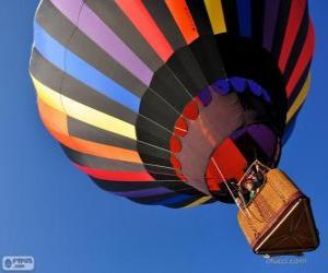 puzzel Ballon vliegen