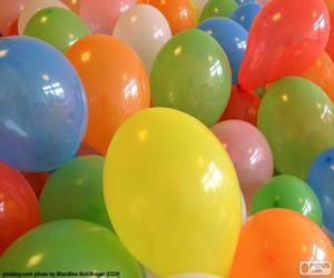 puzzel Ballonnen voor een feestje