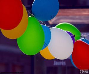 puzzel Ballonnen voor viering