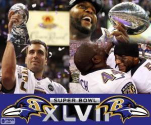 puzzel Baltimore Ravens Super Bowl 2013 Kampioenen