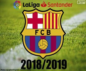puzzel Barça, kampioen 2018-2019