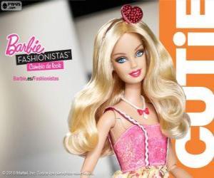 puzzel Barbie Fashionista Cutie