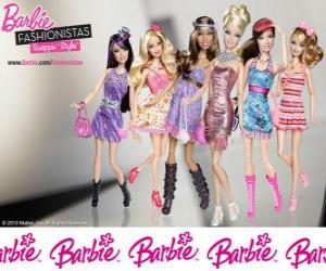 puzzel Barbie FASHIONISTAS