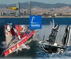 puzzel Barcelona World Race 2010
