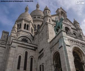 puzzel Basilique du Sacré-Cœur, Parijs