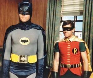 puzzel Batman en Robin