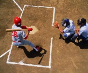 puzzel Batter en catcher klaar