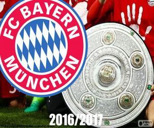 puzzel Bayern Múnich, kampioen 2016-2017