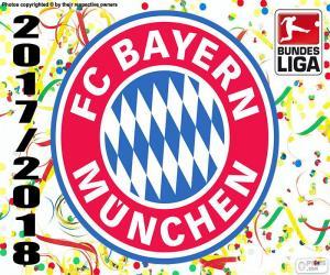 puzzel Bayern München, Bundesliga 2017-2018