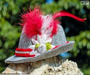 puzzel Beierse hoed