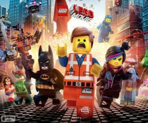 puzzel Belangrijkste personages uit de film Lego