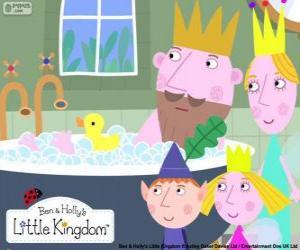 puzzel Ben en Holly met de koningen