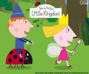 puzzel Ben, Holly en Gaston, drie grote vrienden in het kleine Koninkrijk