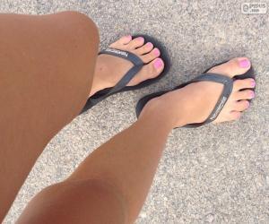 puzzel Benen en voeten