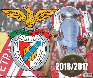 puzzel Benfica, kampioen 2016-2017