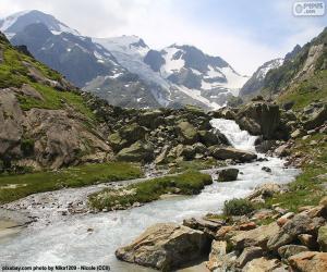 puzzel Bergen van Susten, Zwitserland