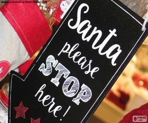 puzzel Bericht voor de Kerstman
