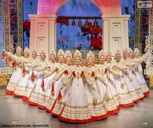 puzzel Beriozka, klassieke Russische dans