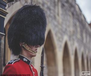 puzzel Bewaker van de koningin, Londen