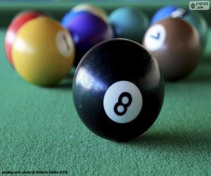 puzzel Biljartballen