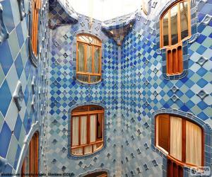 puzzel Binnenplaatsen, Casa Batlló