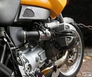 puzzel BMW boxer motor