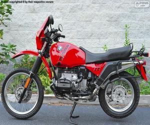 puzzel BMW R100GS
