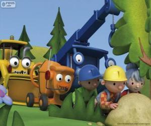 puzzel Bob de Bouwer en zijn vrienden