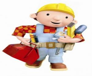 puzzel Bob de Bouwer met zijn gereedschap