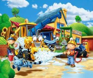 puzzel Bob en Wendy wasmachines