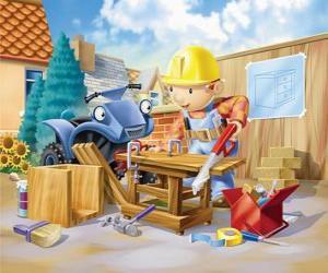 puzzel Bob werkte als timmerman