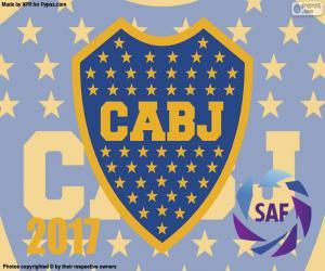 puzzel Boca Juniors kampioen van de 2016-2017
