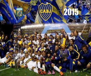 puzzel Boca, kampioen 1e divisie 2015