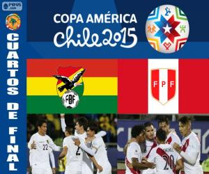 puzzel BOL - PER, Copa America 2015