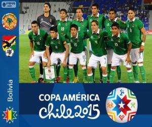 puzzel Bolivia Copa America 2015