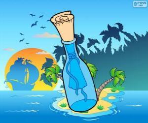 puzzel Boodschap in een fles