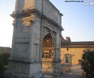 puzzel Boog van Titus, Rome