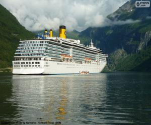 puzzel Boot, Geirangerfjord