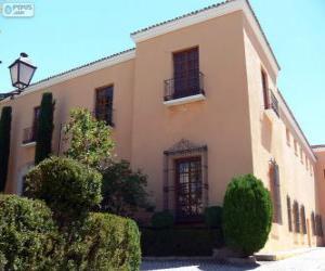 puzzel Bracamonte Paleis, Avila, Spanje