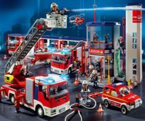 puzzel Brandweerkazerne