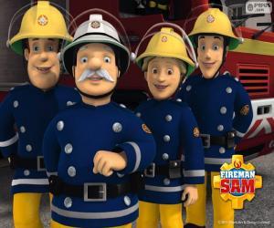 puzzel Brandweerlieden van Pontypandy