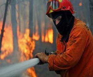 puzzel Brandweerman in actie